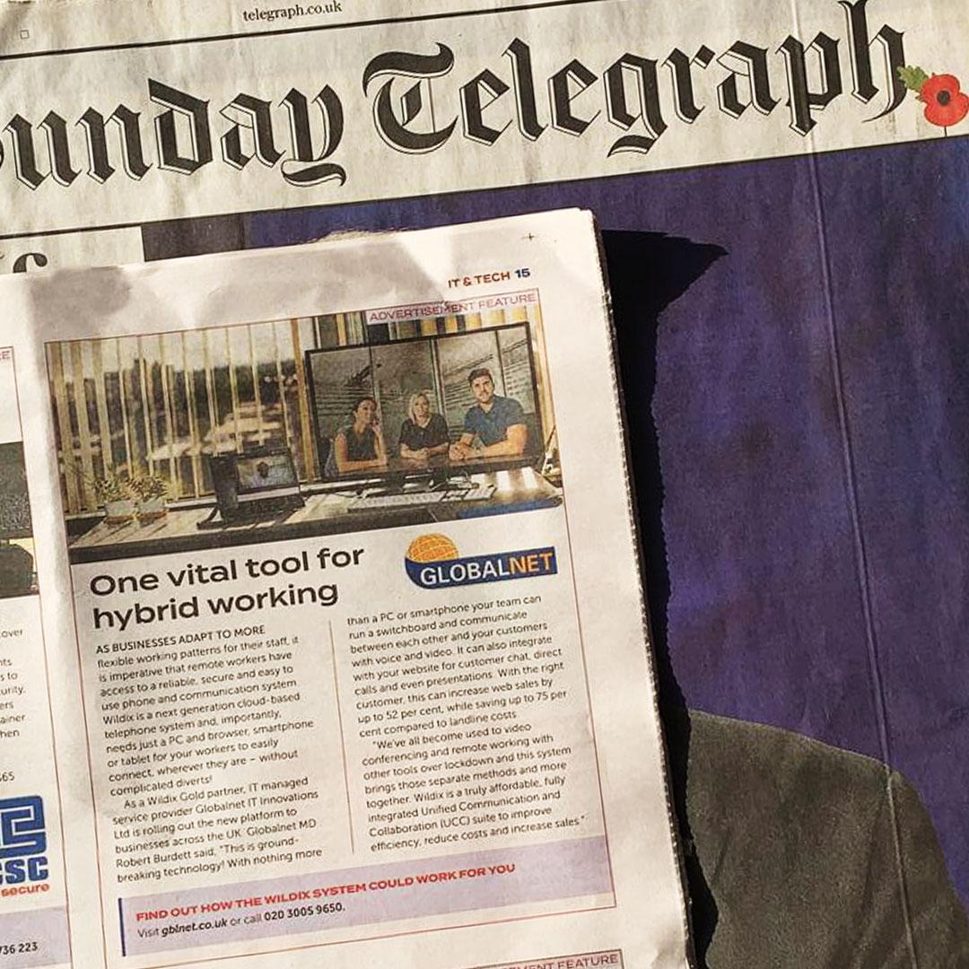 Wildix main Telegraph